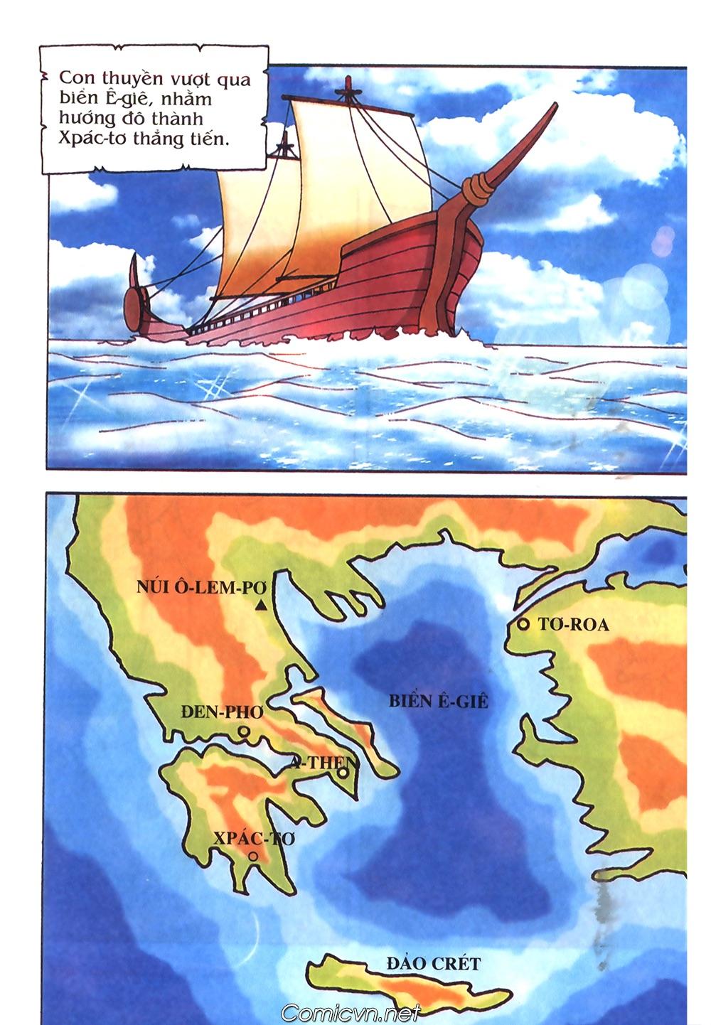 Thần Thoại Hy Lạp Màu - Chapter 50: Hoàng tử Pa rít - Pic 34