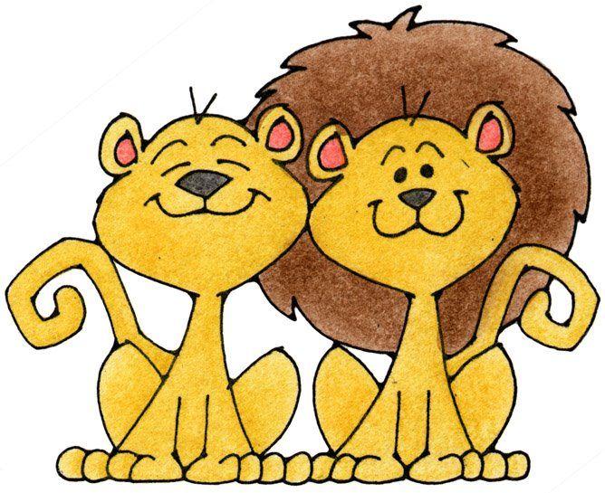 leones dibujo
