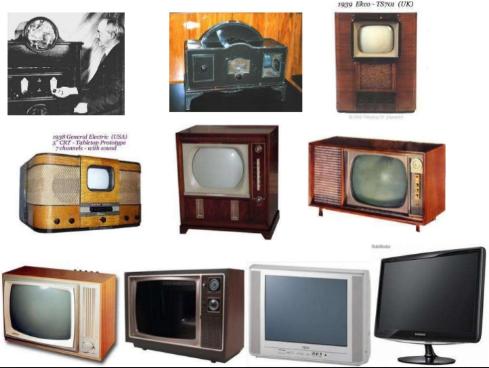 Sejarah perkembangan TV dari tabung plasma led lcd