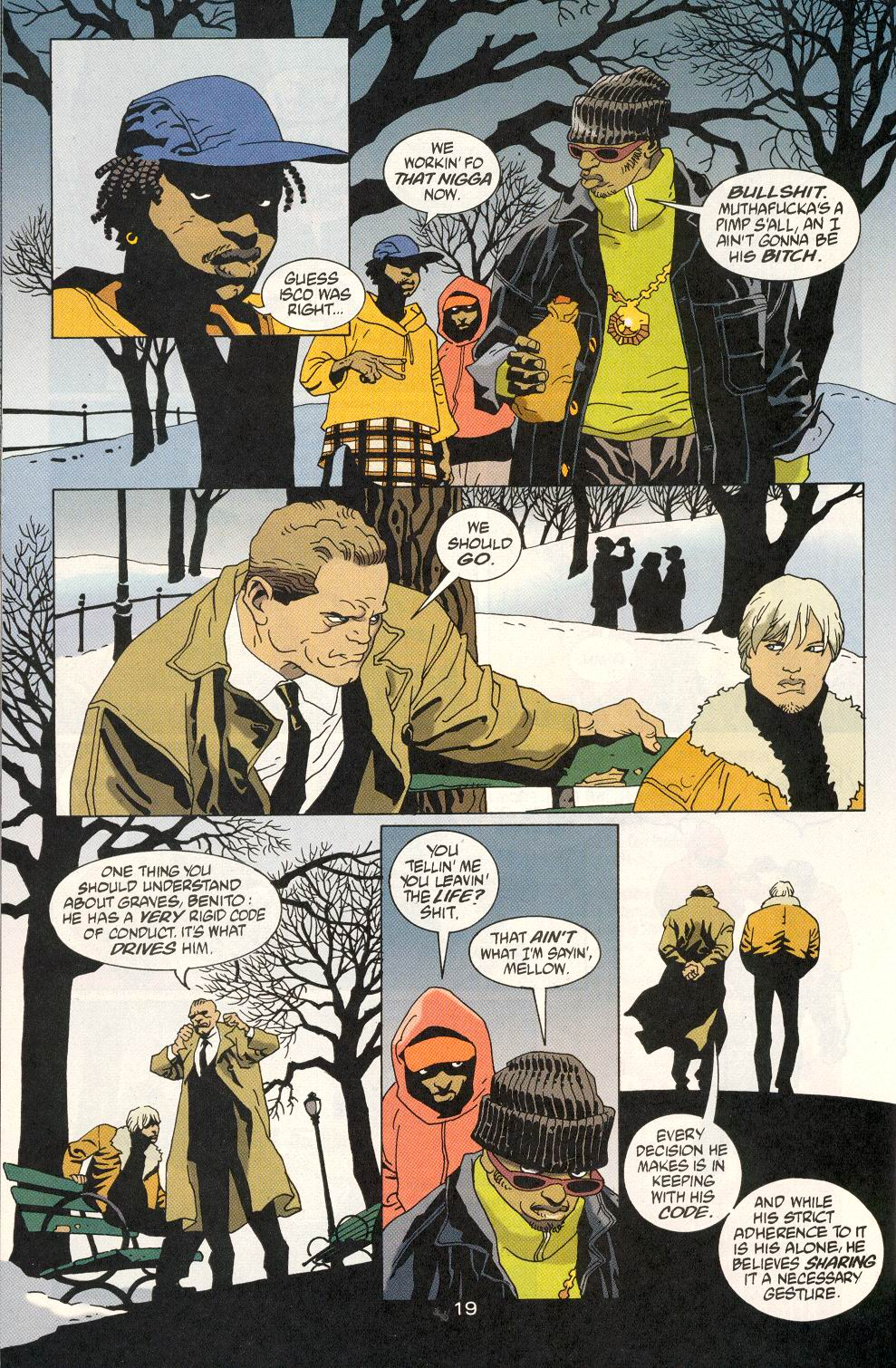Read online 100 Bullets comic -  Issue #20 - 21