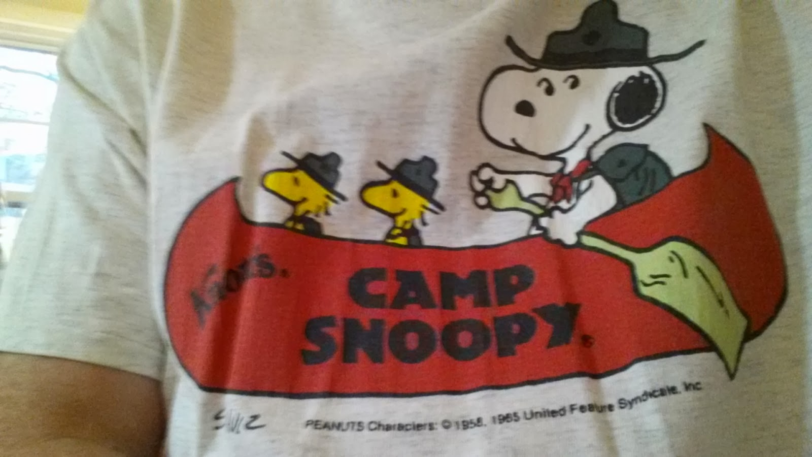 84d3ab57f7 365 T-Shirts  a sense of doubt blog  T-shirt  244 - Camp Snoopy