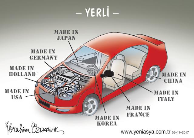yerli otomobil karikatür