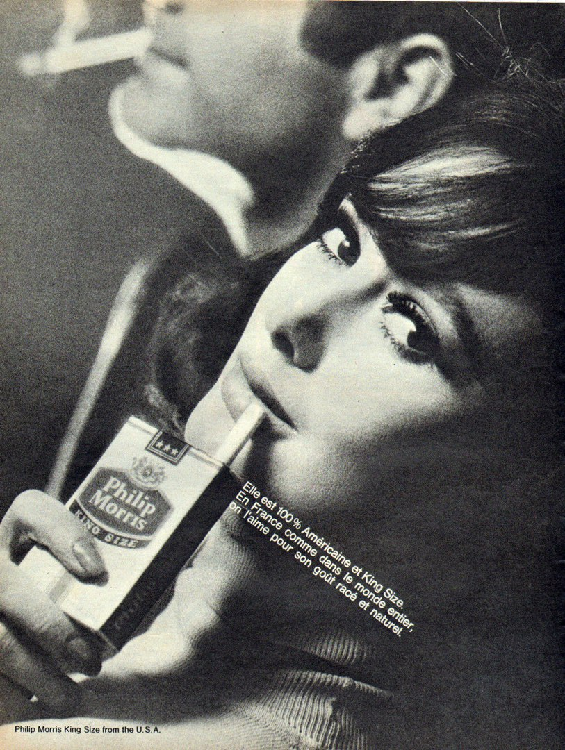 что значит реклама табака на фото если