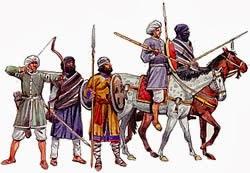 Almoravid warrior