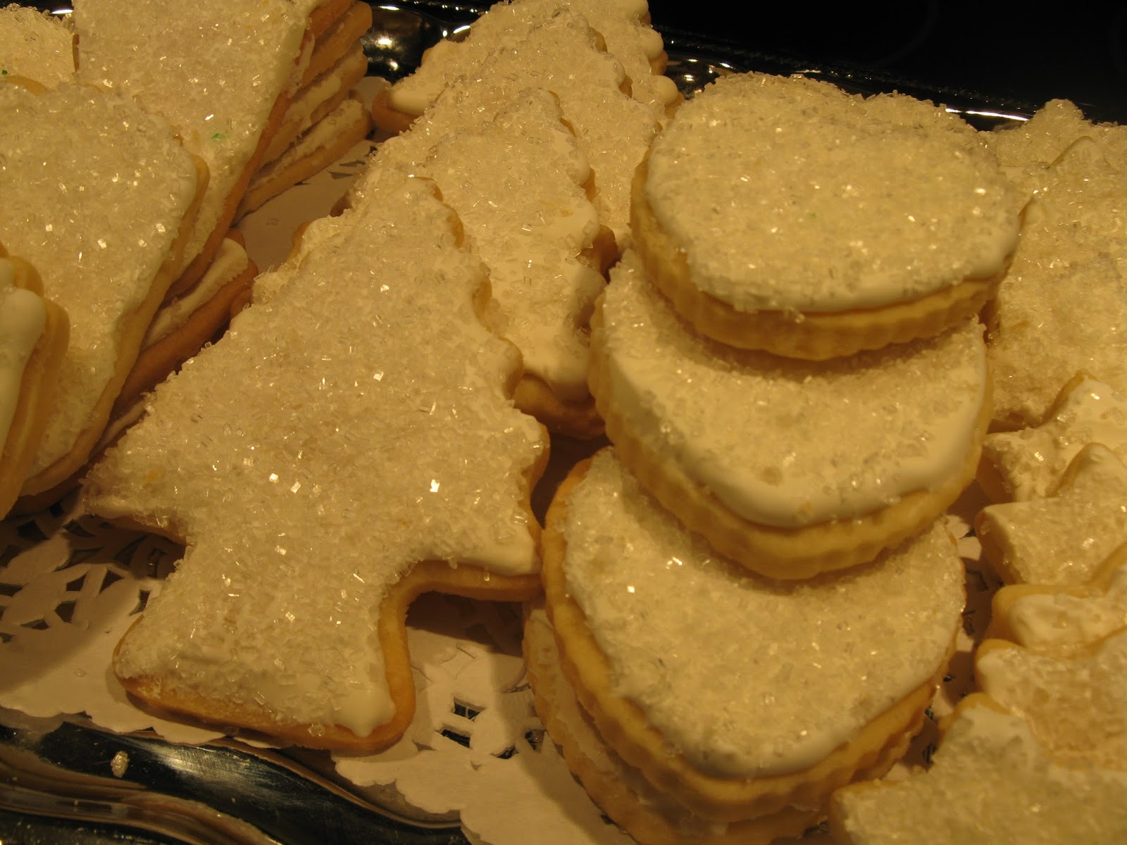 Iced Shortbread Cookies