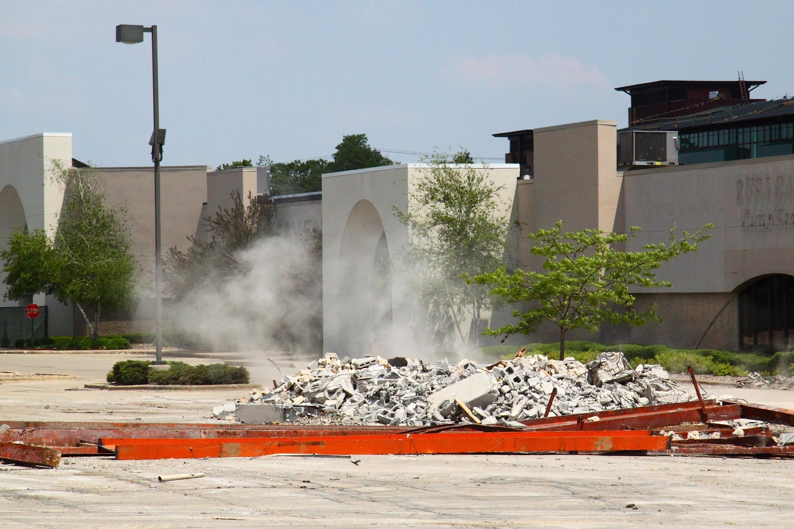 The Contractor Report Demolition At Westgate Mall By