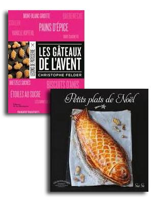 livres pâtisserie Noël