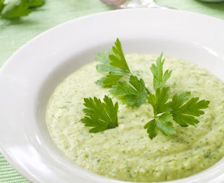 Zucchini and potato soup