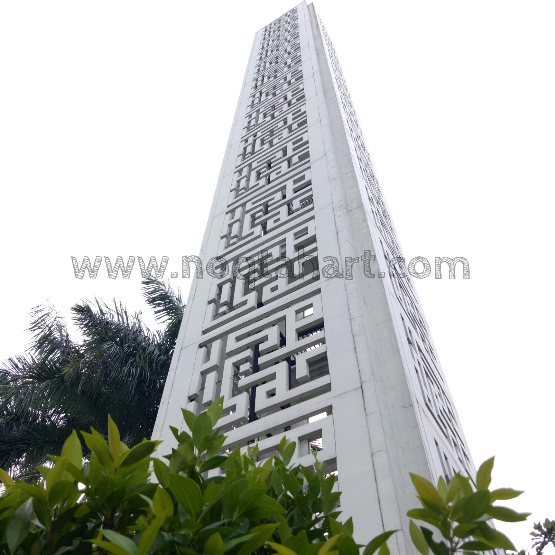 menara kaligrafi grc