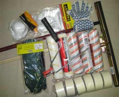 concrete floor painting tools