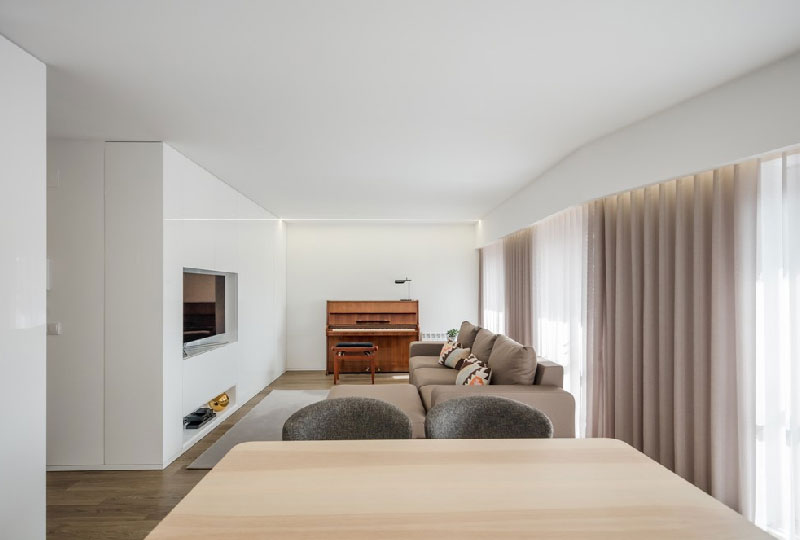 Appartamento Vila do Conde by Raulino Silva Architect