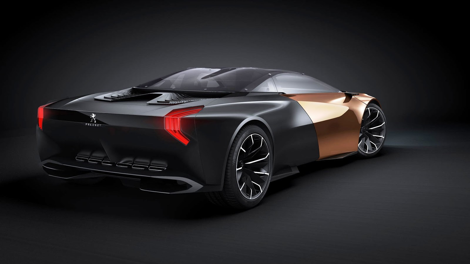 Full HD Exotic Car Wallpapers: 2012 Peugeot Onyx Concept
