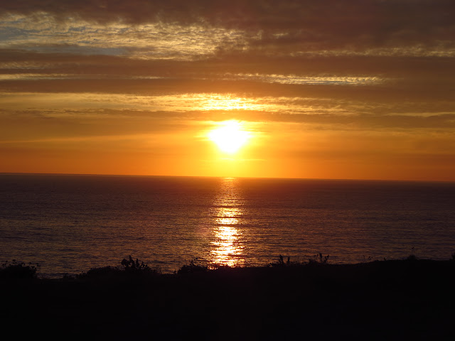 Pacific Coast Sunset California