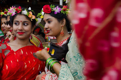 pohela boishakh saree