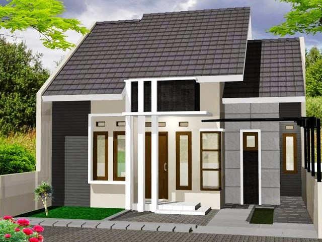 Rumah Minimalis 1 Lantai Tampak Depan Sederhana Modern