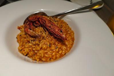 Spasso Italian Bar & Restaurant, blood orange risotto