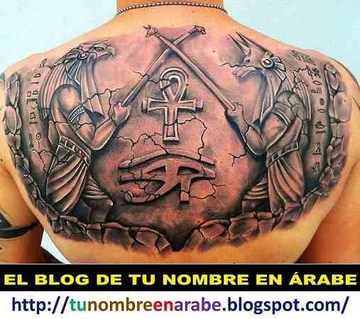 llave de la vida egipcia tatuaje