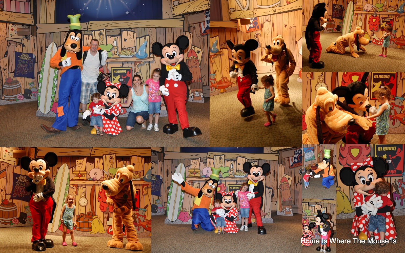 disney world character meet and greet
