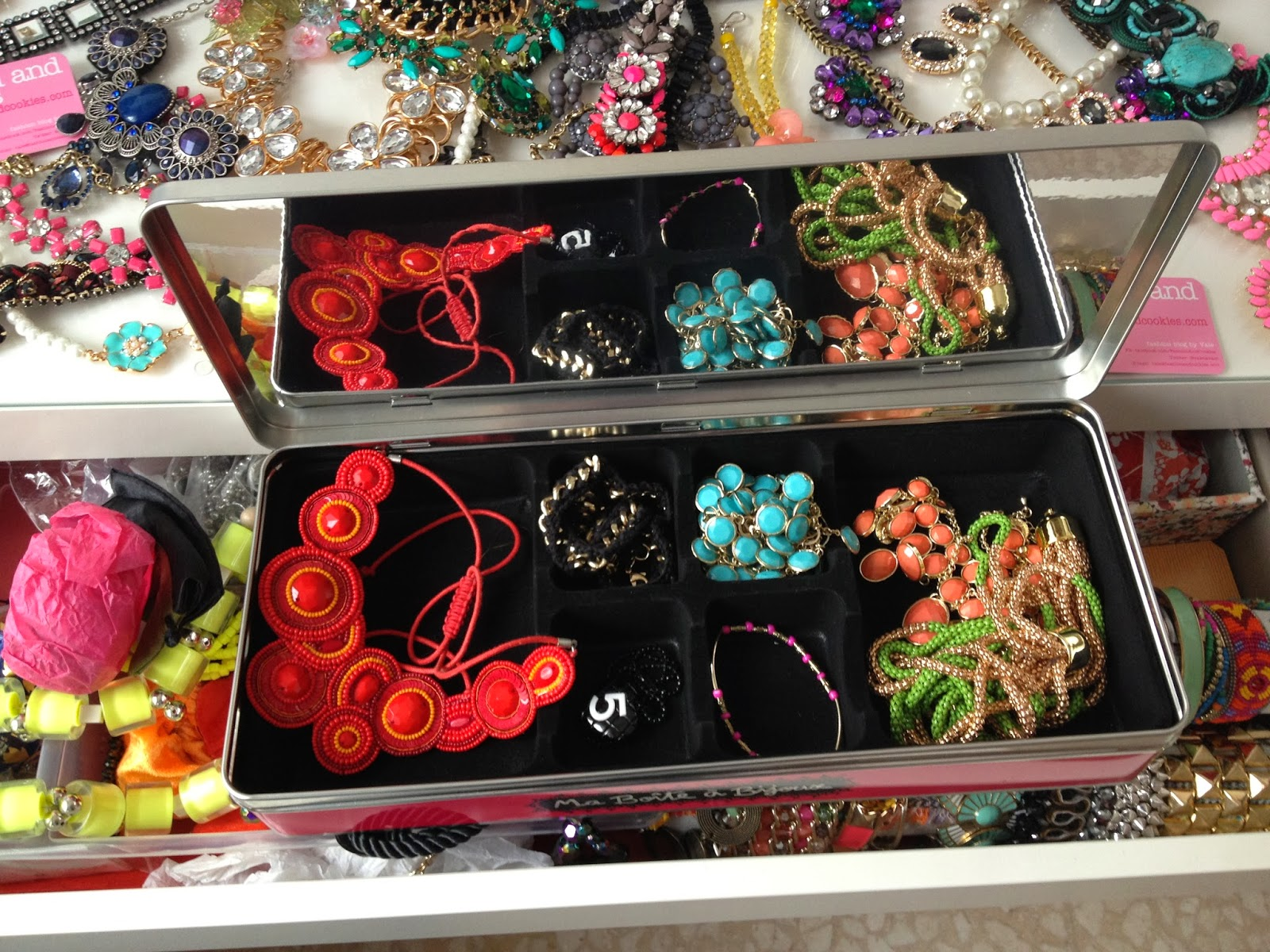 Maisons Du Monde Jewellery Box Inmycloset Statement Necklaces Fashion And Cookies