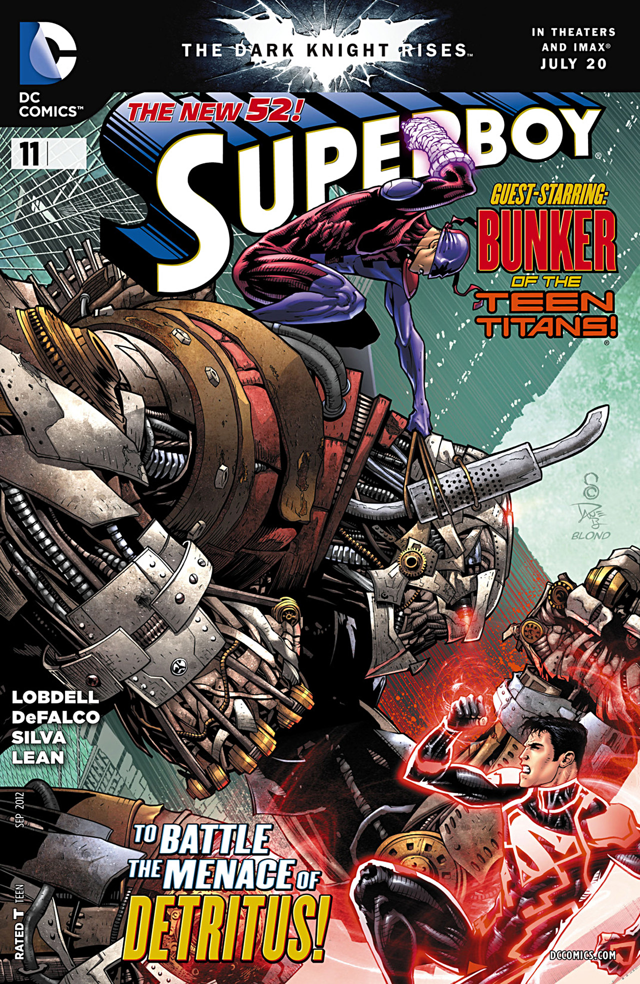 Superboy [II] issue 11 - Page 1