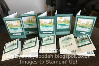Coffee & Cards project March 2018, Craftyduckydoodah!, Stampin' Up! UK Independent  Demonstrator Susan Simpson, Supplies available 24/7 from my online store, Waterfront,