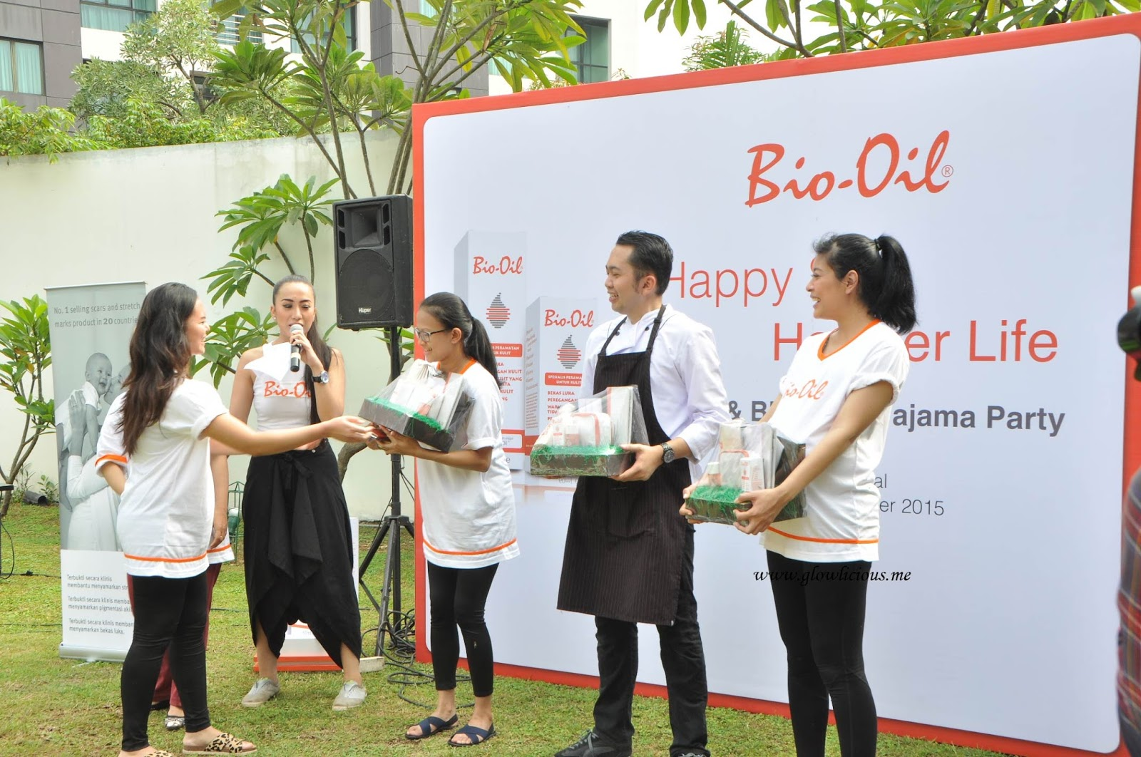 Bio Oil Pajamas Party Feat Sigi Wimala