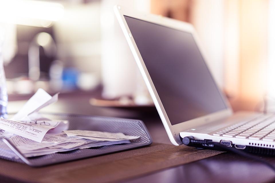 Receipts and Laptop Preparing for Rebate Pixibay Image