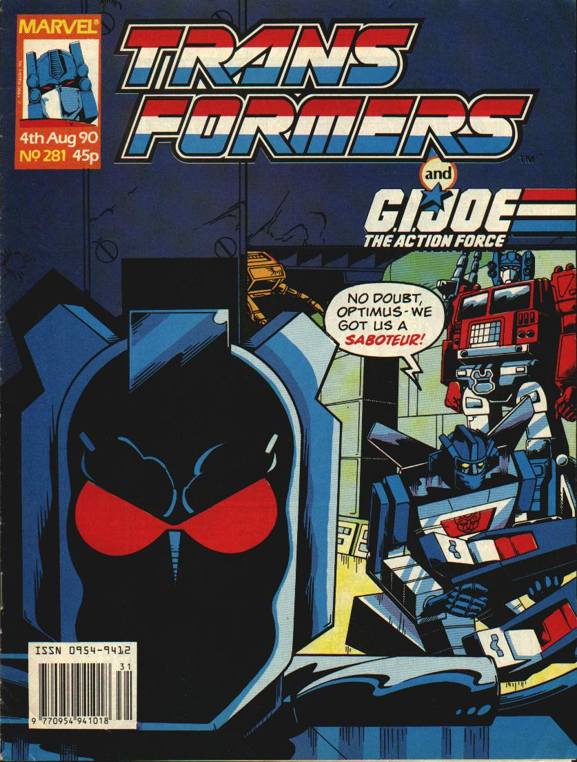 The Transformers (UK) 281 Page 1