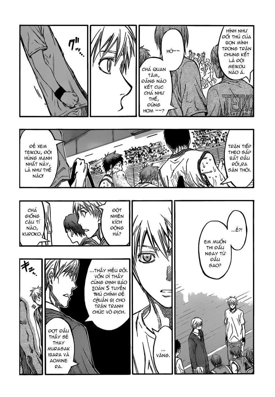 Kuroko No Basket chap 225 trang 15