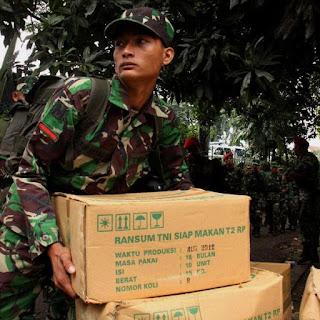 Mengenal Ransum Makanan Khusus TNI