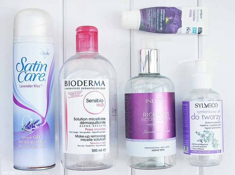 opakowania po zużytych kosmetykach