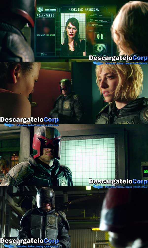 Dredd HD 1080p Latino