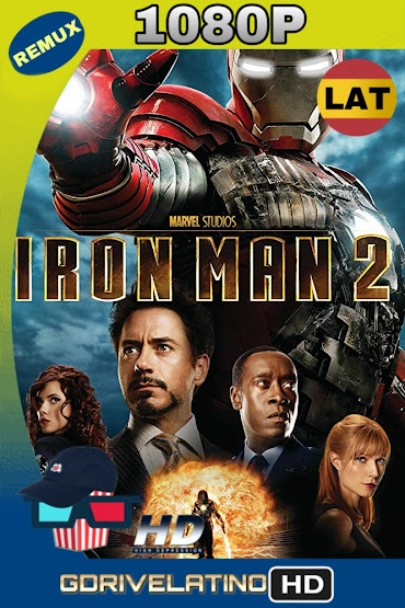 Iron Man 2 (2010) BDRemux 1080p Latino-Ingles MKV