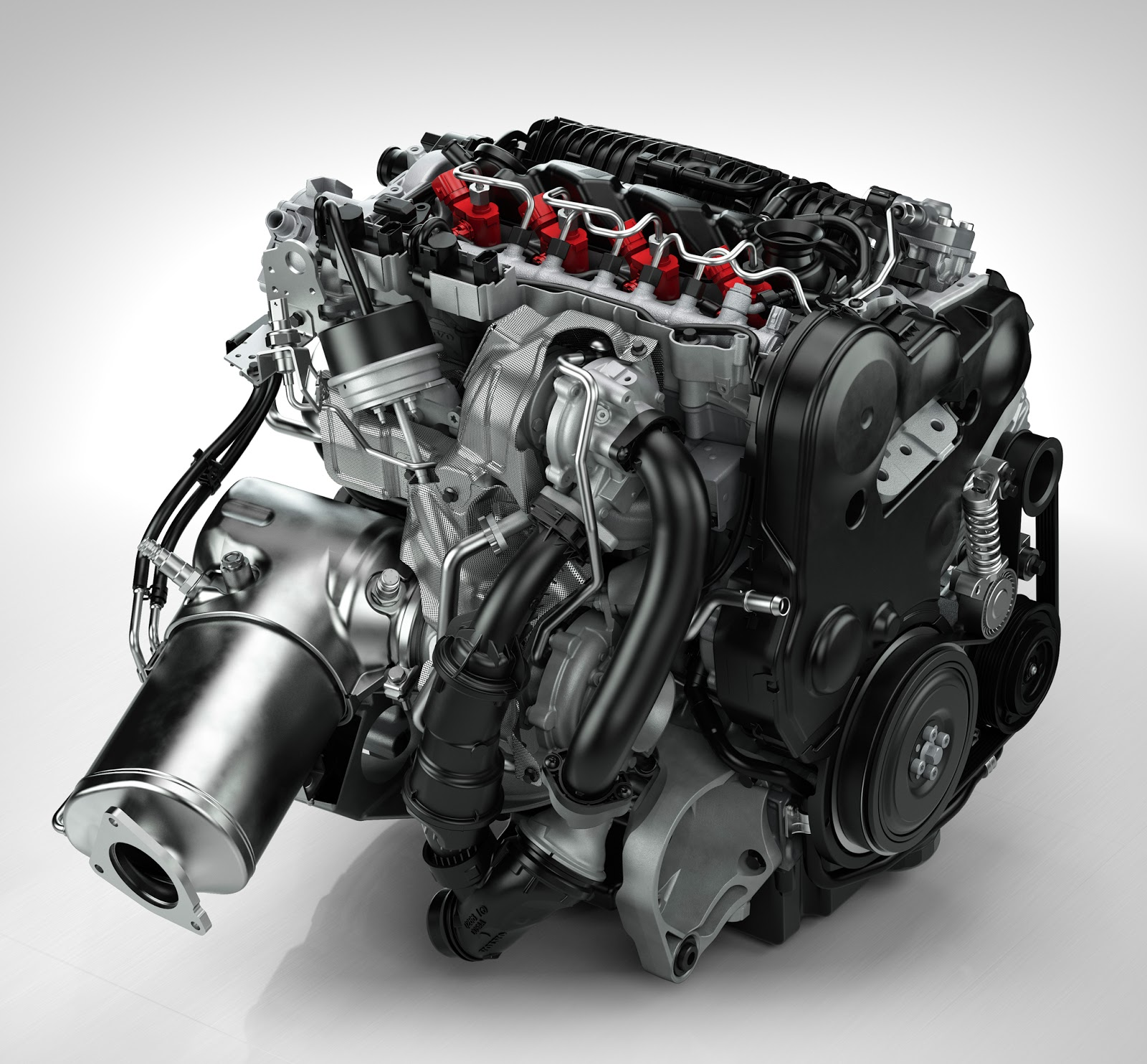 The New Volvo D4 Sel Engine
