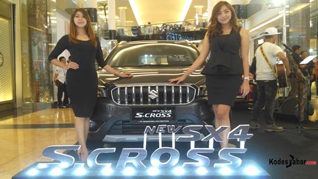 Suzuki New SX4 S-Cross Tampil Lebih Stylish dan Tangguh Dengan Fitur Terbarunya