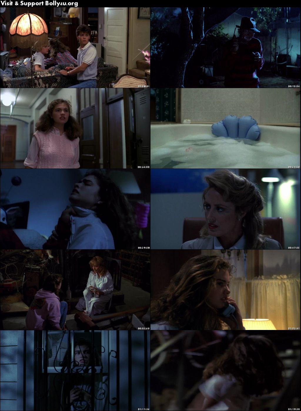 A Nightmare On Elm Street 1984 BRRip 280MB Hindi Dual Audio 480p Download