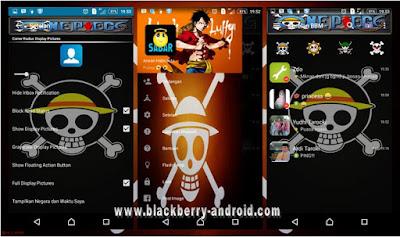 BBM MOD One Peace Themes New Based 2.12.0.11 APK