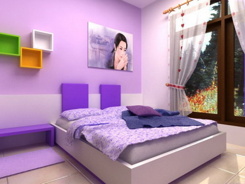 awesome purple bedroom paint color ideas | Useful Ideas On Finding The Best Bedroom Paint Colors For ...