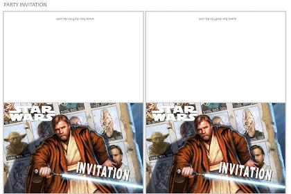 Zaproszenie Na Urodziny Dziecka Star Wars