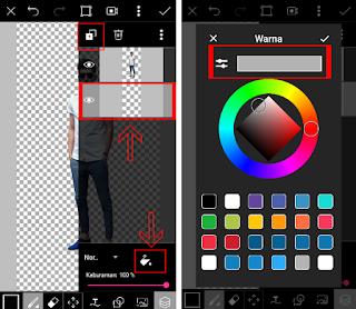 Cara membuat effek bayangan di picsart android