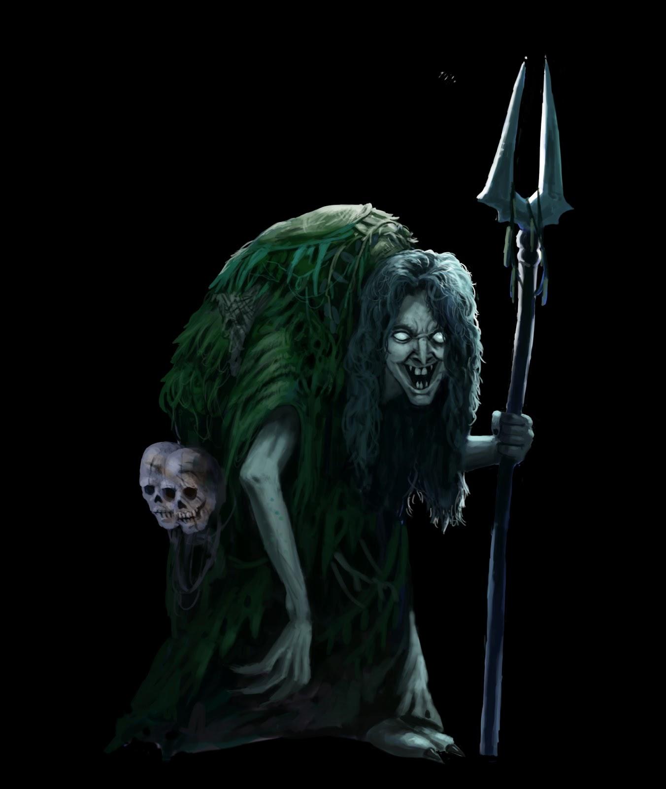 Tenkar's Tavern: Swamp Hag (A Swords & Wizardry Monster)