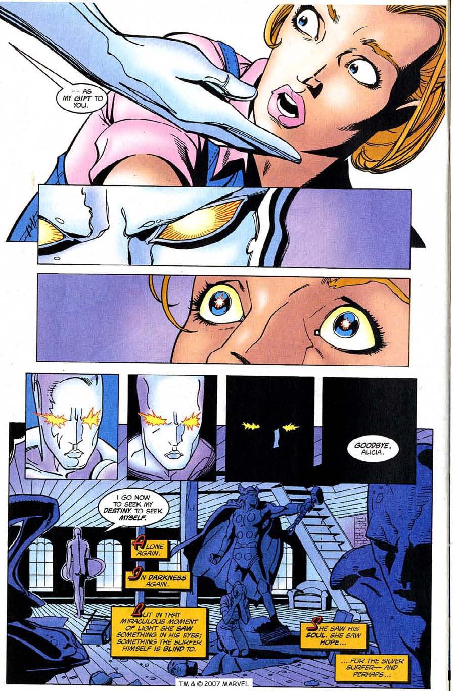 Read online Silver Surfer (1987) comic -  Issue #123 - 30