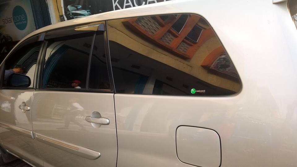 jasa pasang kaca film Solar Gard® untuk mobil Toyota Agya