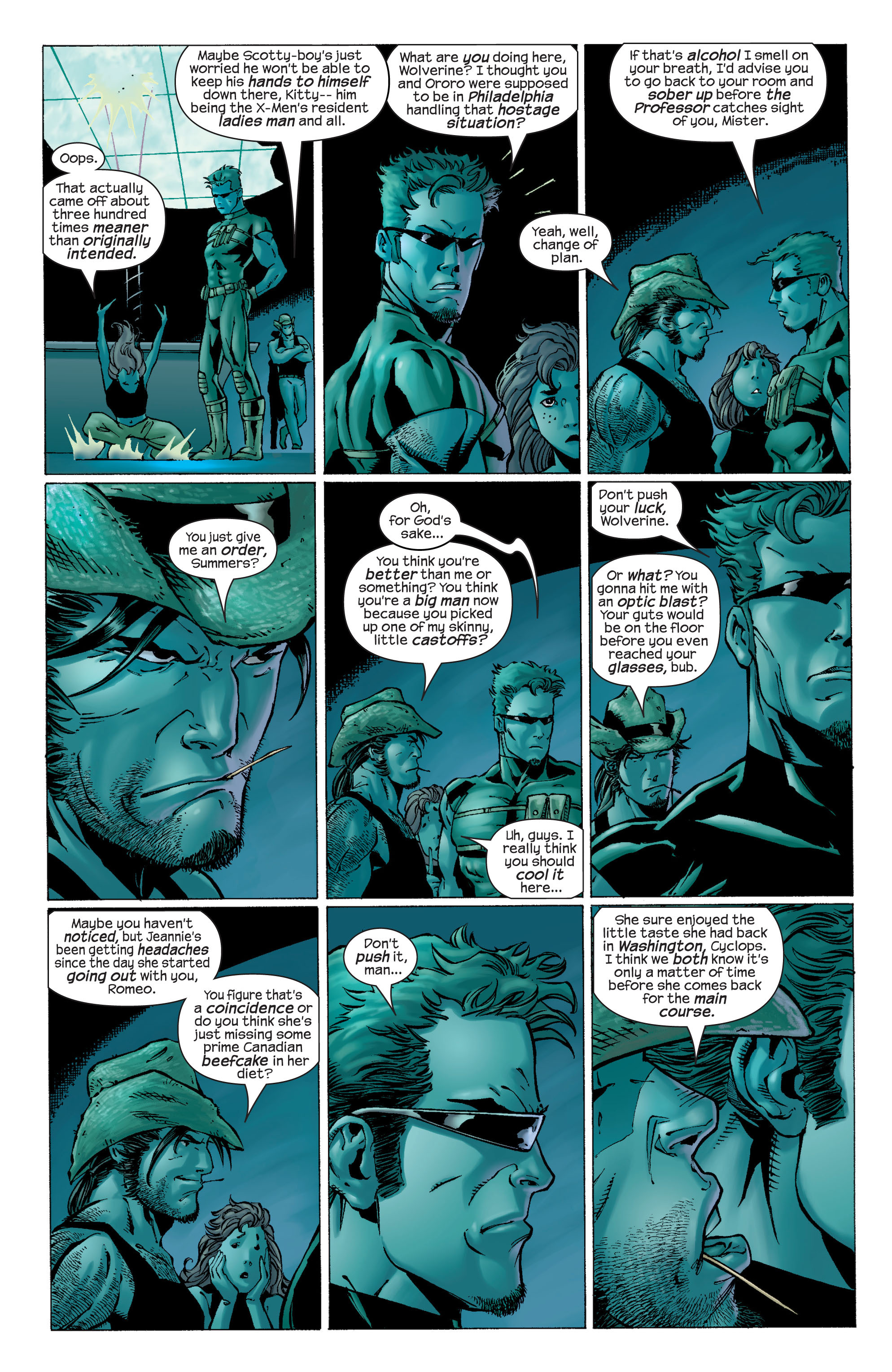 Read online Ultimate X-Men comic -  Issue #22 - 14