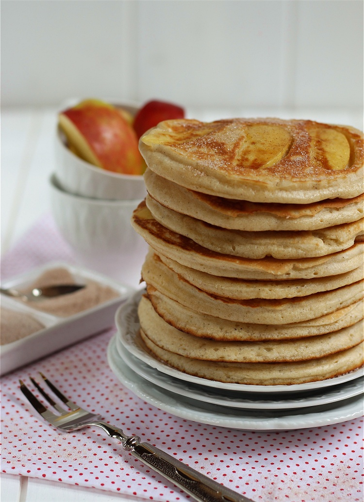 Apfel-Zimt-Pancakes 2