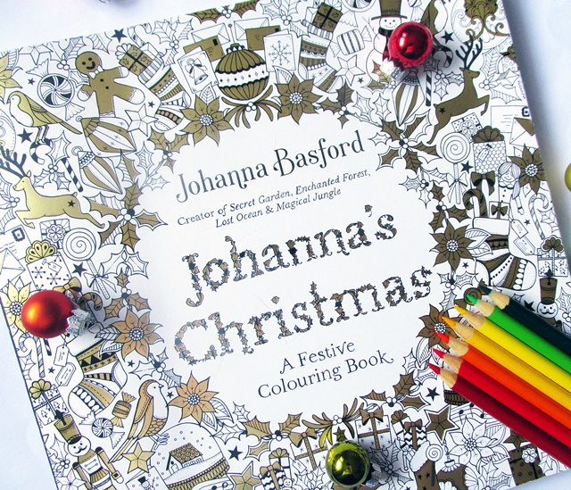 Johannas Christmas Is The Latest Adult Colouring Book From Johanna Basford Creator Of Best Selling Books Secret Garden Enchanted Forest