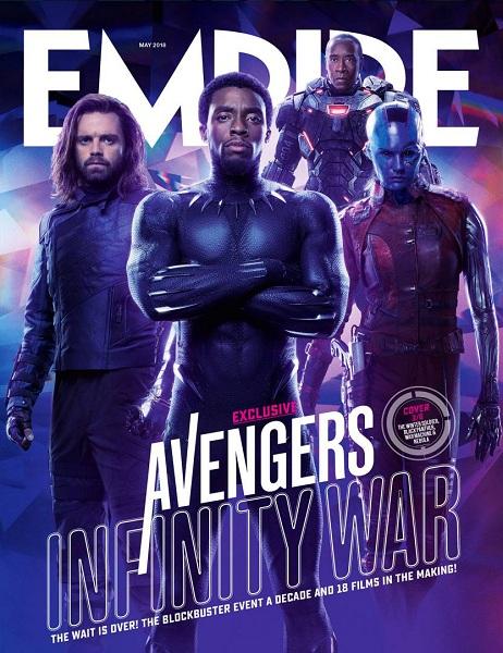 Avengers: Infinity War Winter Soldier - Black Panther - War Machine - Nebula
