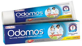 Crème Odomos anti-moustiques en Inde