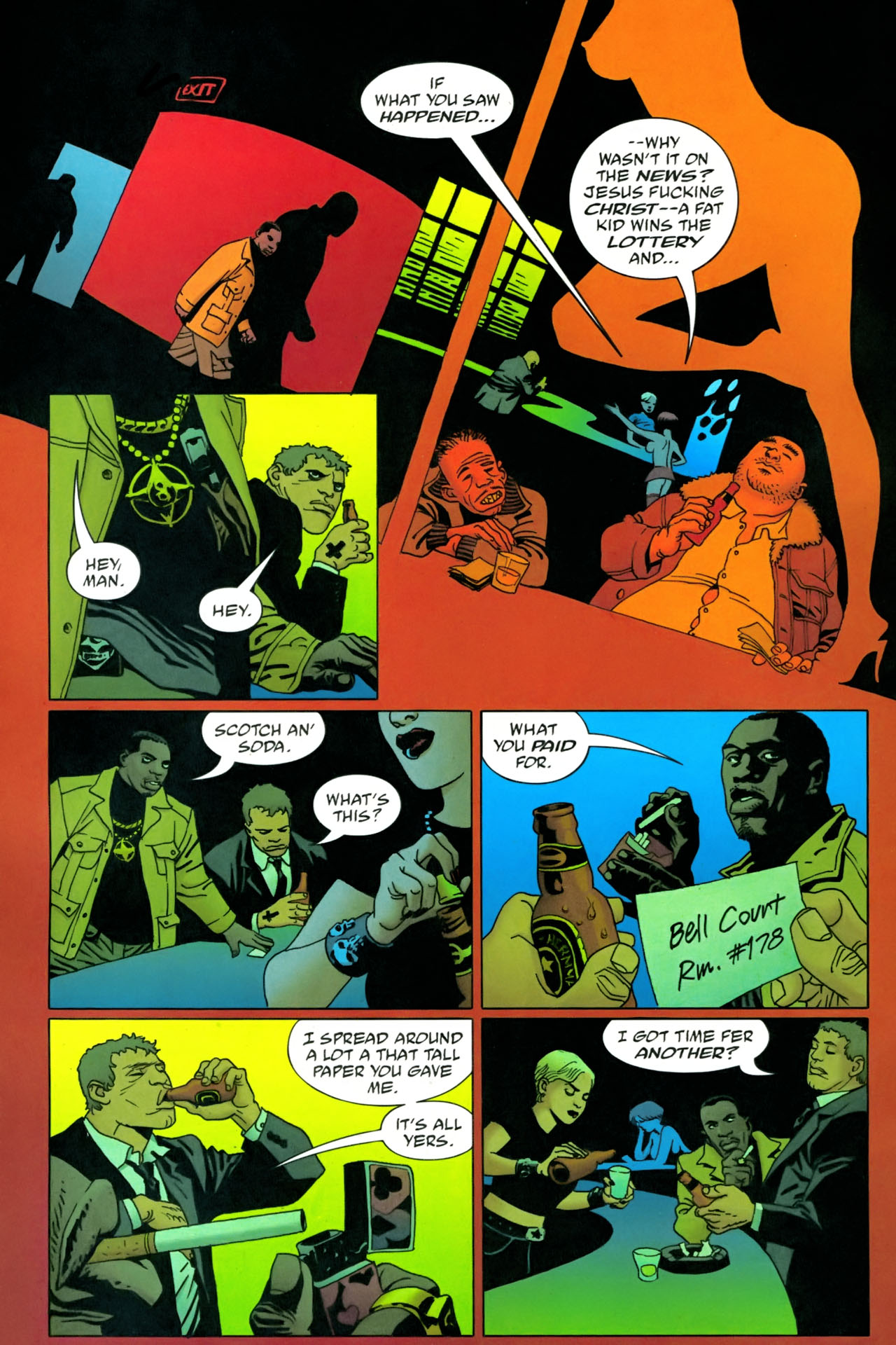 Read online 100 Bullets comic -  Issue #86 - 7