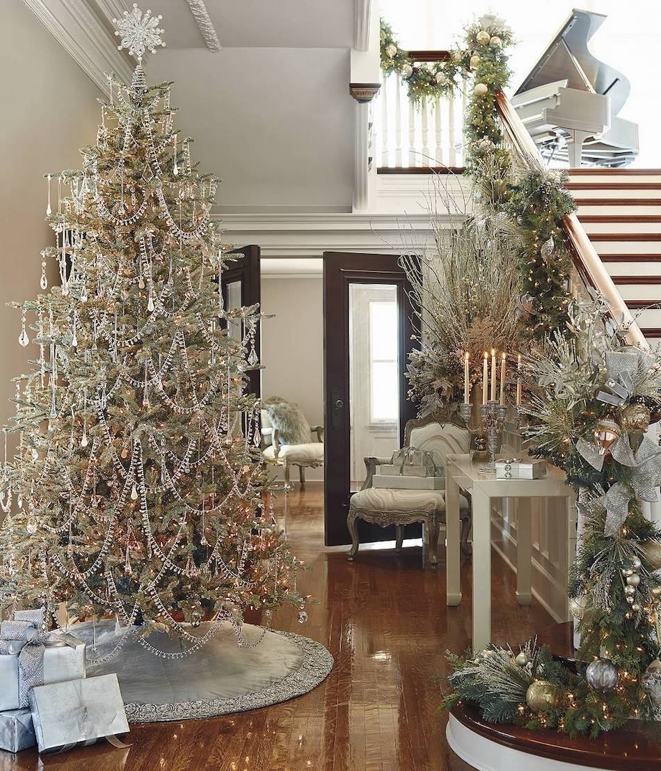 LOOKandLOVEwithLOLO: HOLIDAYS: Decorating With Mixed Metallics